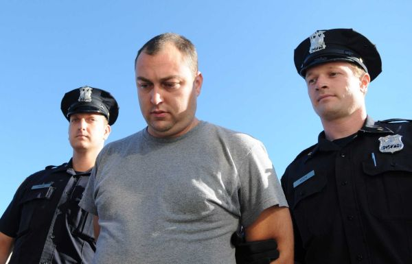 Christopher Teague was arrested on charges of possession of child pornography, cops said. (Aug. 30, 2012) Photo Credit: James Carbone